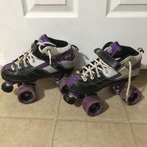 Rock speed skates